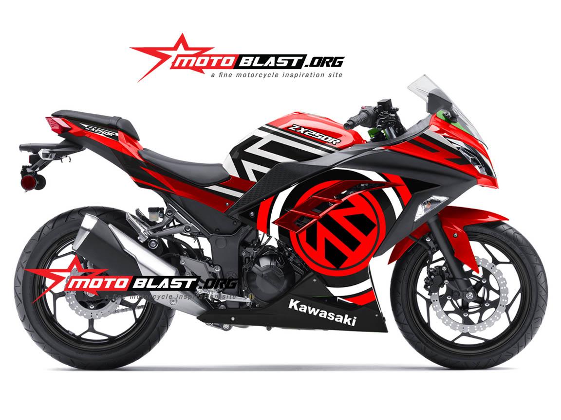 Modif Motor 2017: Modif Motor Beat Merah