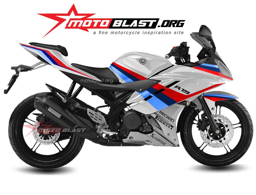 Top yamaha r15 modifikasi motogp
