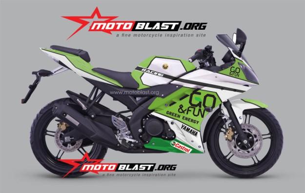 YZF R15 livery motogp Go Fun