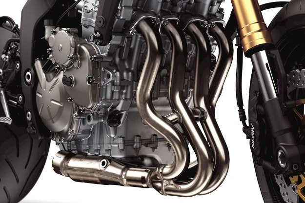2013 Kawasaki Ninja ZX-6R Naked Engine