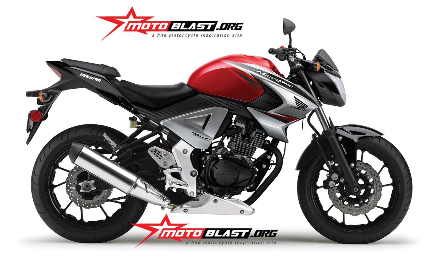 Honda New Megapro 2014
