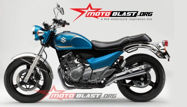 modif Suzuki Inazuma 250 - black - classic-1