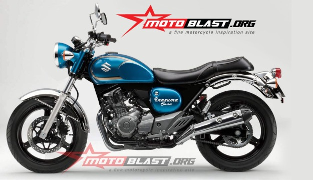modif Suzuki Inazuma 250 - black - classic-2