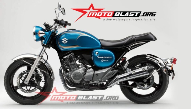 modif Suzuki Inazuma 250 - black - classic-5