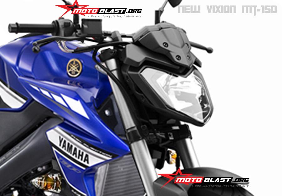 Modif Yamaha New vixion – New Vixion MT-150!!   MOTOBLAST