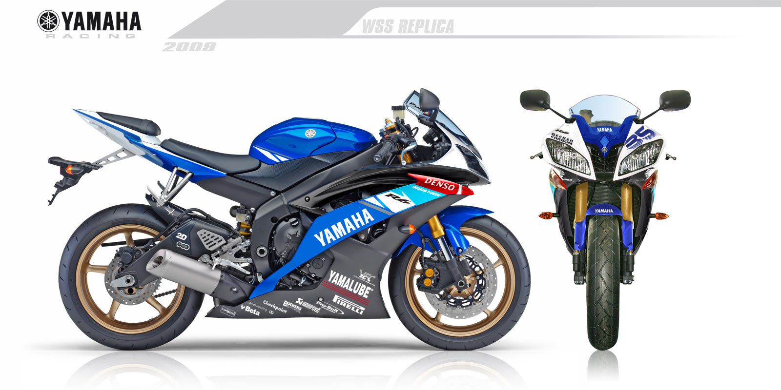 contoh modifikasi striping r15 biru