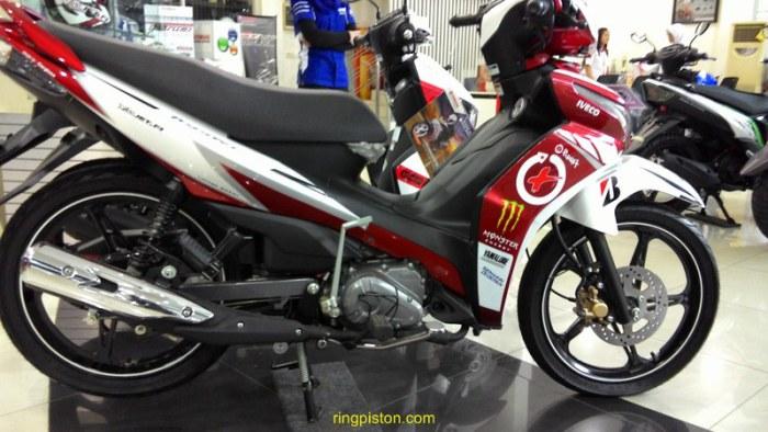 Yamaha Jupiter Z1 Ada Yang Grafis Jorge Lorenzo Nih Muantap Motoblast