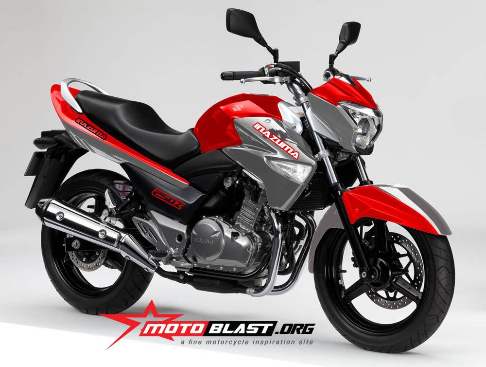 Mega Gallery Modif Suzuki Inazuma 250 Si Baby Gsx Yang Keren
