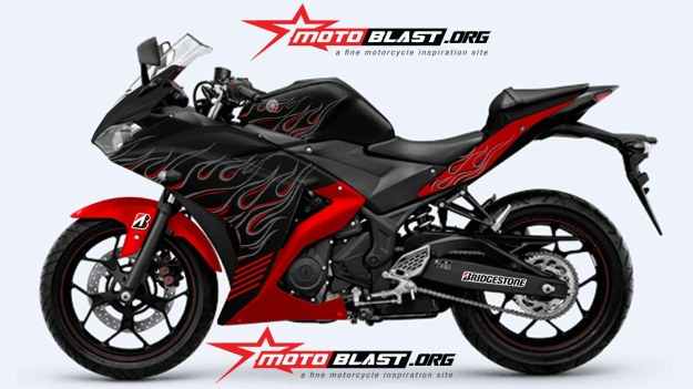 YAMAHAR25-BLACK FIRE1