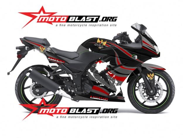 NINJA KARBU BLACK- INDONESIA-motoblast2