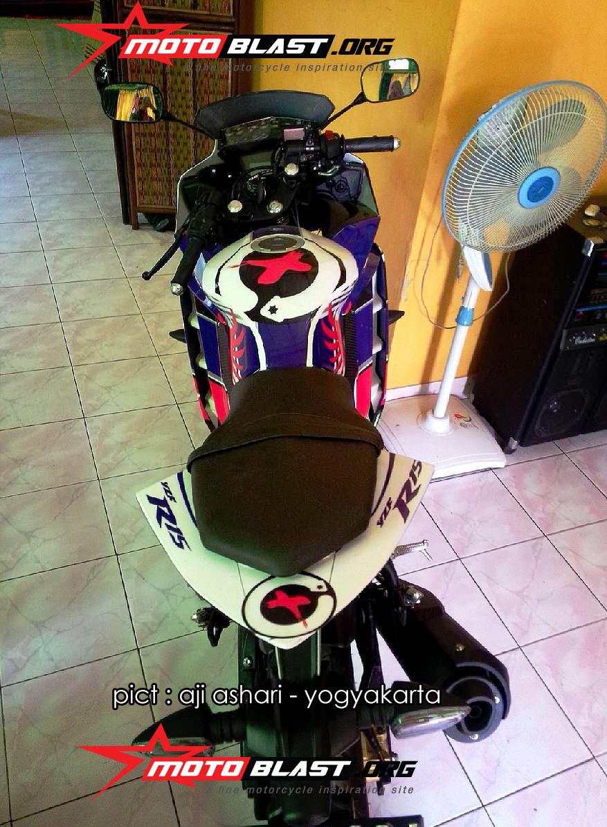 Yamaha R15 Aji Ashari Dari Yogyakarta