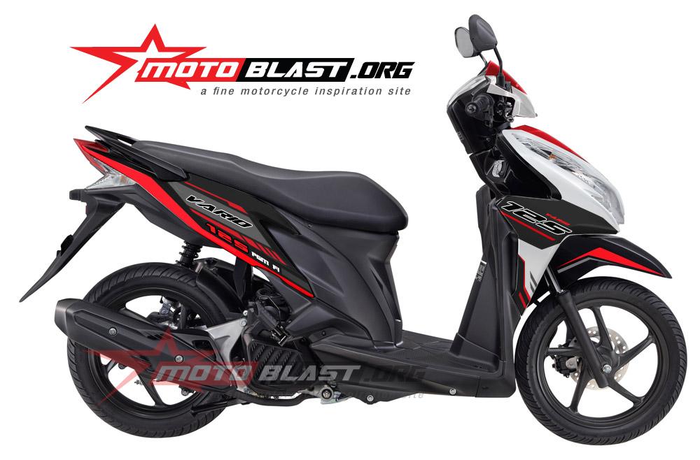 Modif Striping Honda Vario110 Fi 2014 Terbaru5   Motorcycle Review and ...