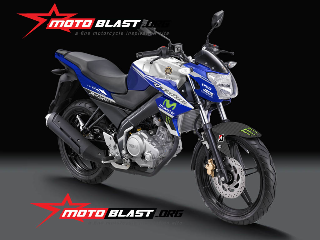 HOT Inikah Yamaha New Vixion Special Movistar Motogp Edition