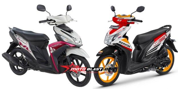 Honda Beat Fi Vs Yamaha Mio I