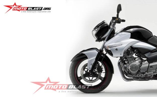 Suzuki Inazuma 250 - black buntut b king-front