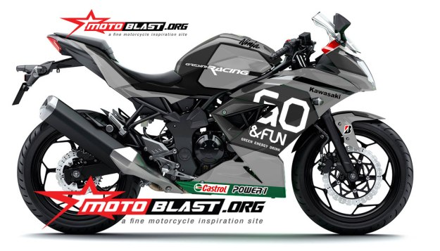 RR MONO GREEN GO N FUN MOTOGP-BLACK EDITION