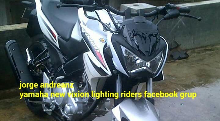 Lagi Headlamp Replika Z250r Ubah Yamaha New Vixion Jadi Monster
