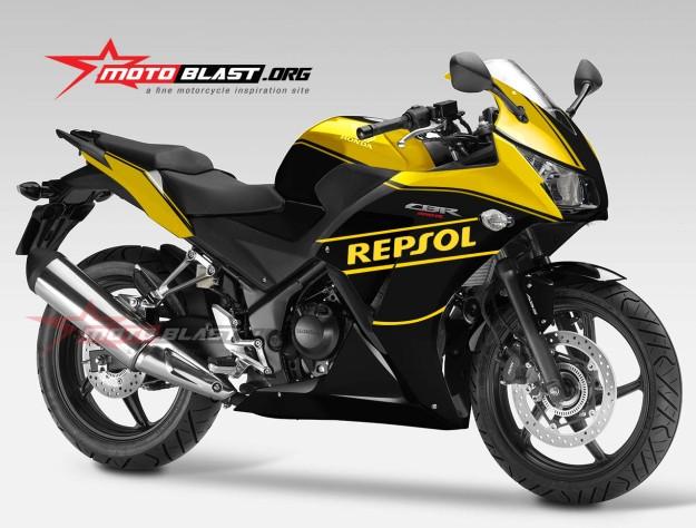 HONDA CBR250R NEW-YELLOW BLACK-1
