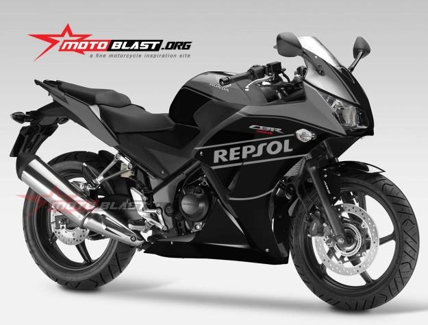 HONDA CBR250R NEW-YELLOW BLACK-2