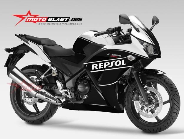HONDA CBR250R NEW-YELLOW BLACK-3