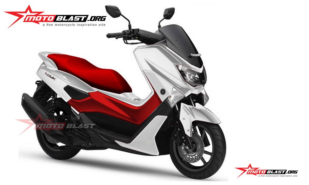 Modif Yamaha Nmax Dengan Berbagai Varian Warna Menarik Sporty