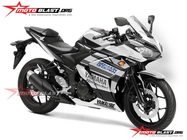 Yamaha R25-YACR-1black