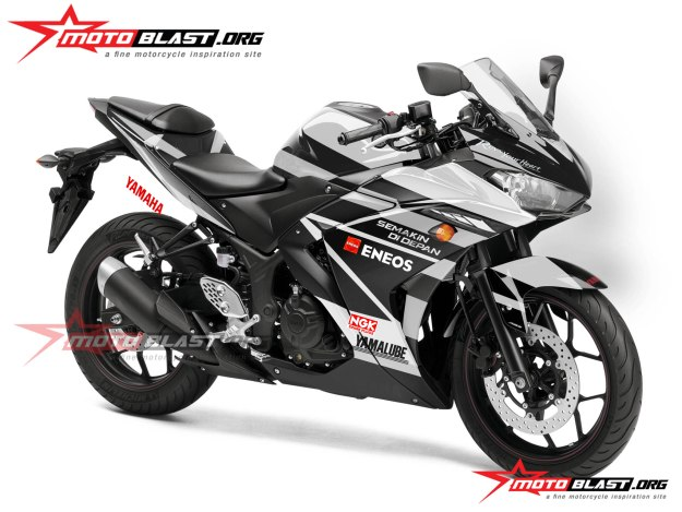 Yamaha R25-YACR-2black