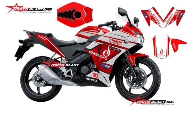 cbr150r thailand - fiamm motoblast