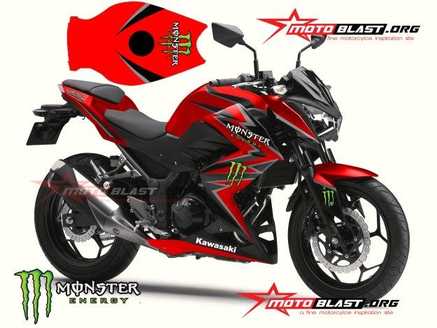 MODIF-STRIPING-Z250R-BLACK-RED-MONSTER-1