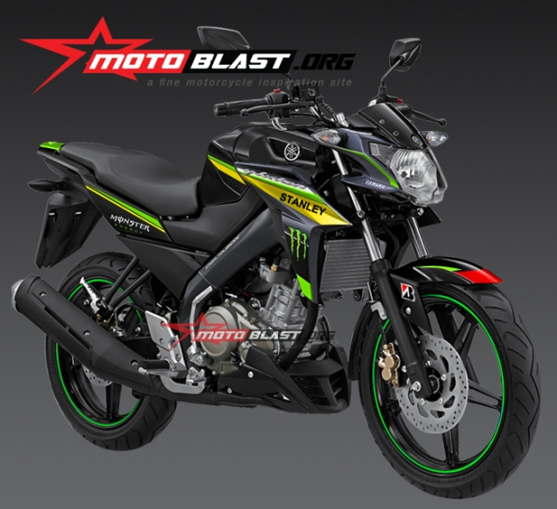 New VIxion Advance 2015 - monster tech 3 motogp 2015