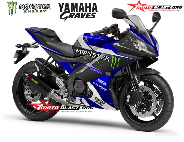 YAMAHA R15 NEW PERSPEKTIF-BLUE MONSTER-R1M-1