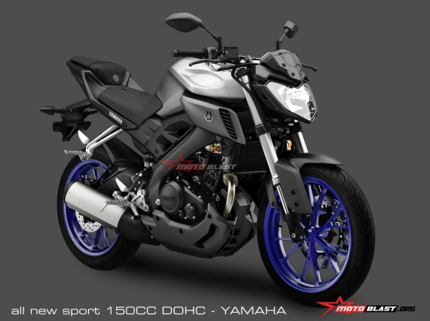 ALL NEW YAMAHA MT15 - 150CC DOHC