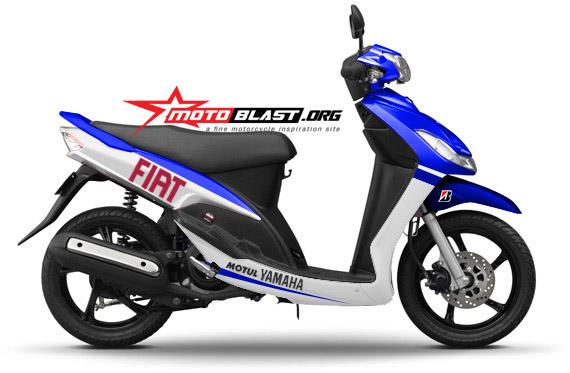 modifikasi mio sporty ala motogp terpopuler