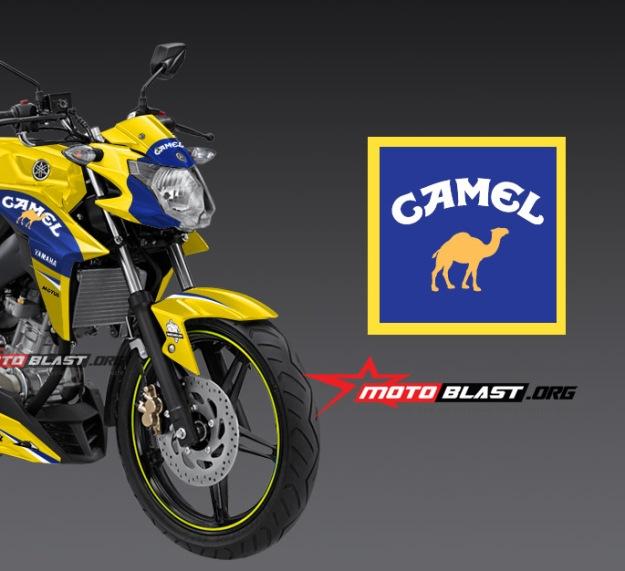 new vixion advance - camel motogp livery-front