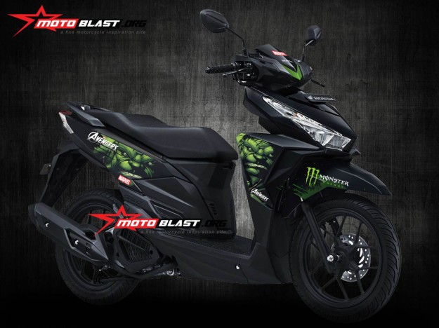 vario 150esp- black HULK2