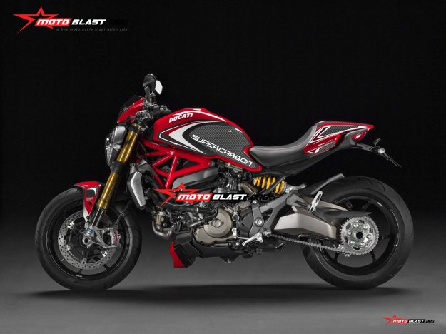 DUCATI MONSTER-SUPERCARBON-1