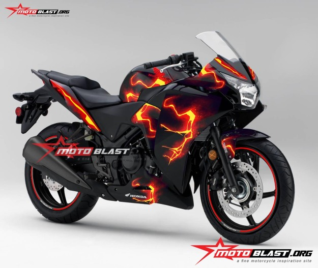 Honda-cbr-250-black-ironman