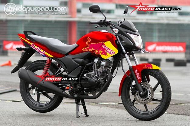HONDA VERZA 150 RED-REDBULL1