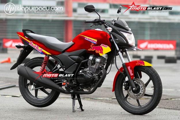 HONDA VERZA 150 RED-REDBULL2
