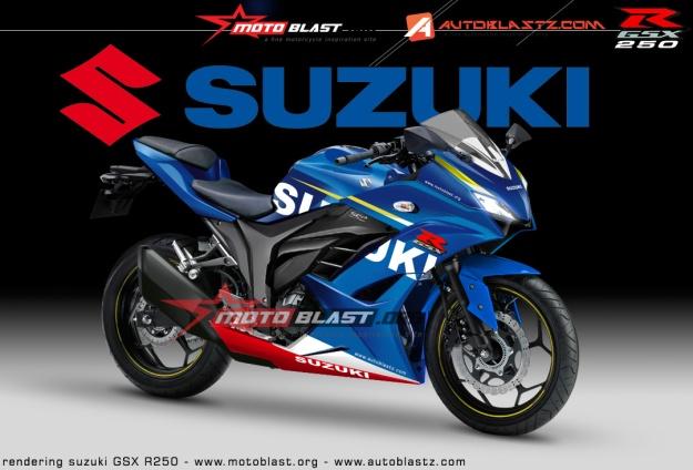 SUZUKI GSX R250-2