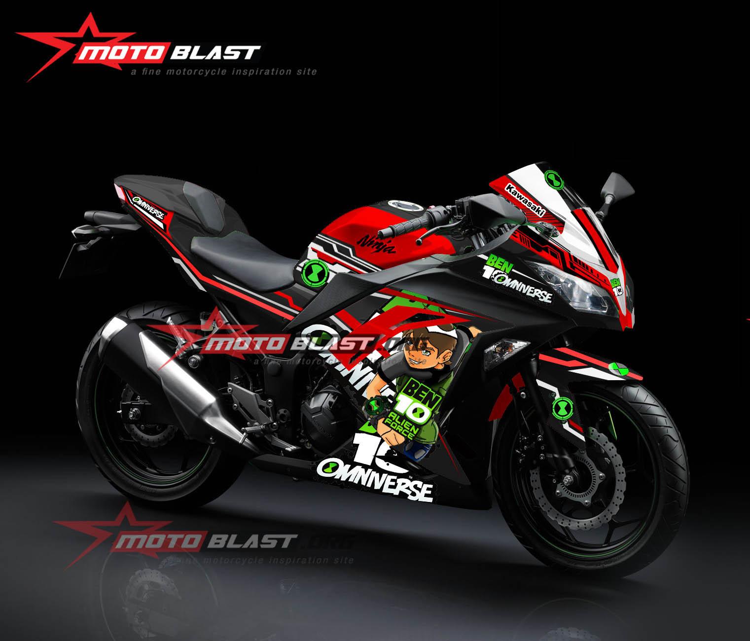 2 ninja 250r fi black ben 10 motoblast 2b motoblast diterbitkan agustus 8 2015 di 1521 1300 dalam voltagebd Image collections