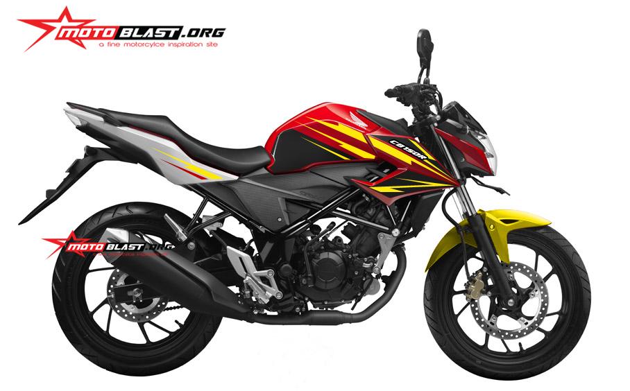 Modif Striping Honda CB150R facelift RED! nyosss | MOTOBLAST