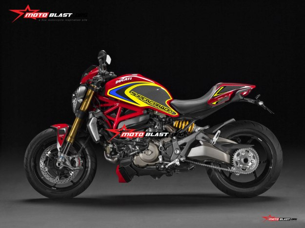 DUCATI MONSTER RED-YELLOW3