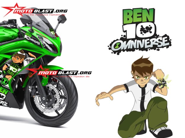 ER6F GREEN BEN10-FRONT