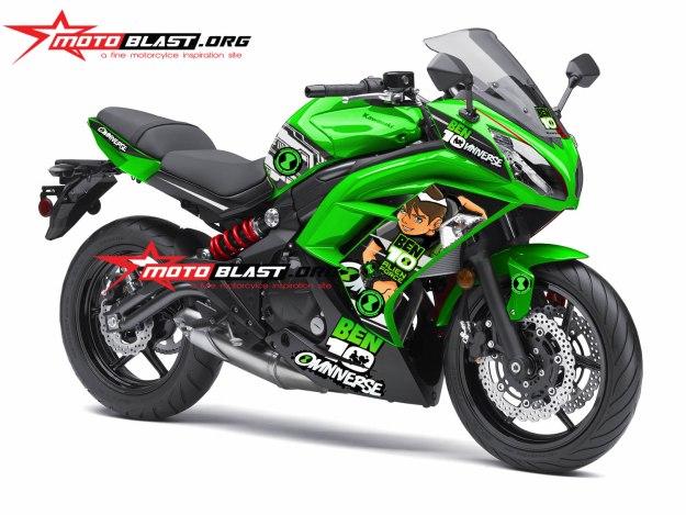 ER6F GREEN BEN10