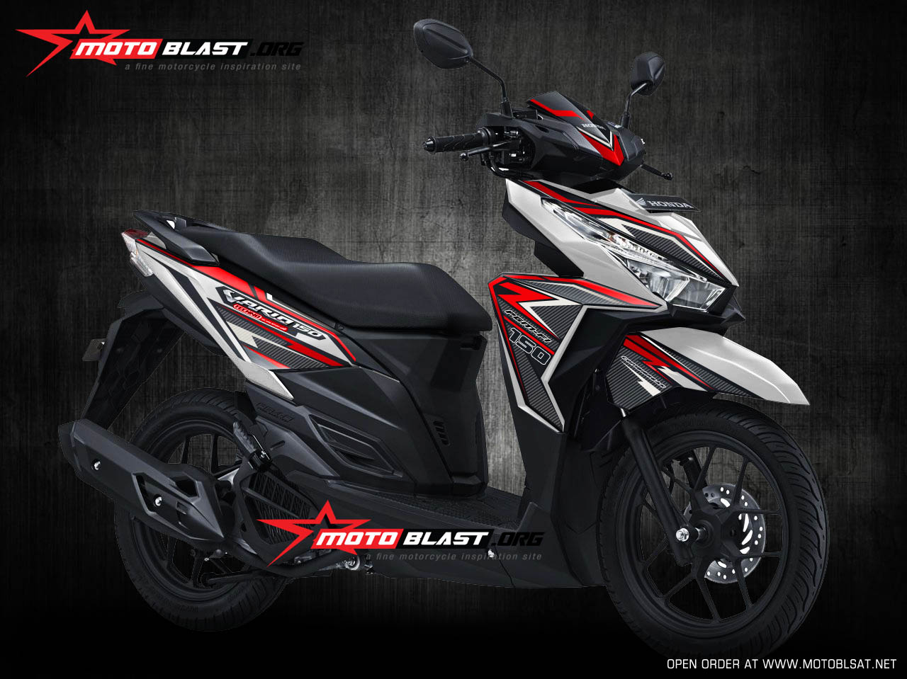 Vario 150 white super carbon 2 jpg