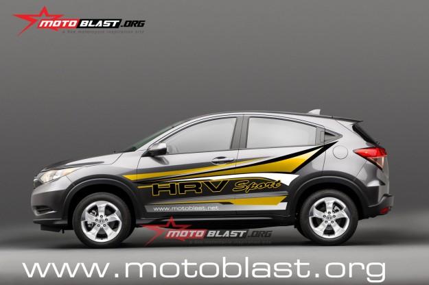 Honda HR-V Compact SUV.