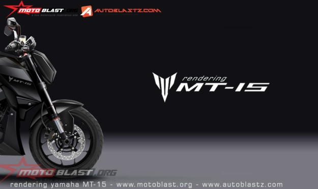 NEW RENDERING YAMAHA MT15-front