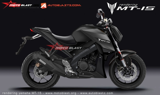 NEW RENDERING YAMAHA MT15