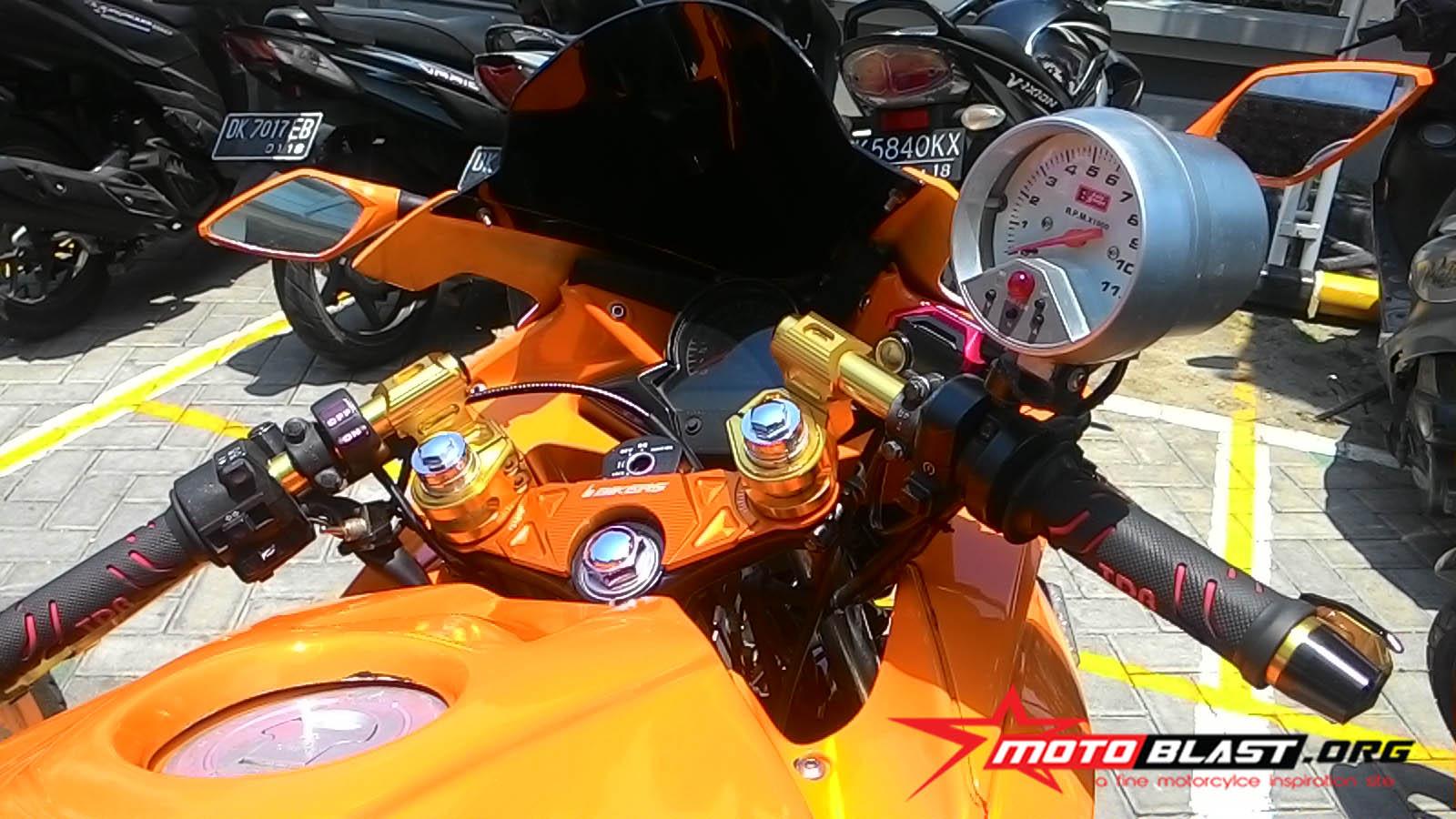 Modif Honda CBR150R Thailand Repsol Livery Dari Bali Sangar Mas Bro